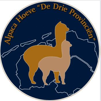 "Logo van Alpaca Hoeve""De Drie Provinciën"""