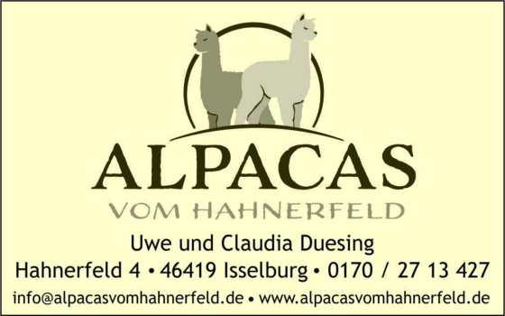 Logo van Alpacas vom Hahnerfeld